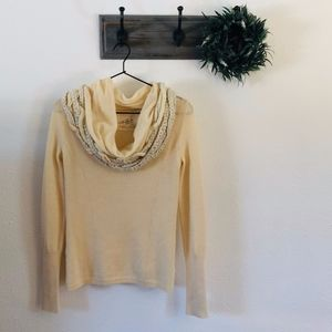 Anthro Angel of North Oversized Cowl Sweater XS